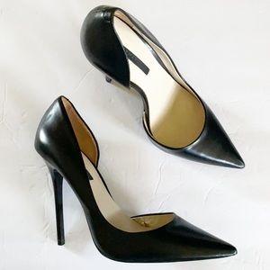 ZARA | Black classic pointed toe stiletto heel